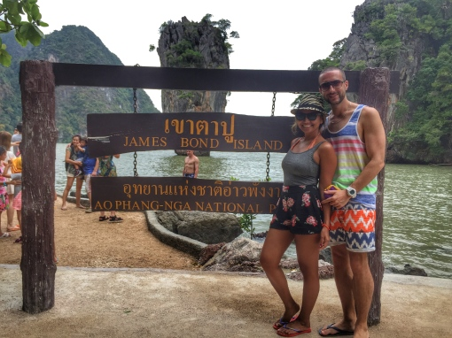 James Bond Island tour. December 2014.
